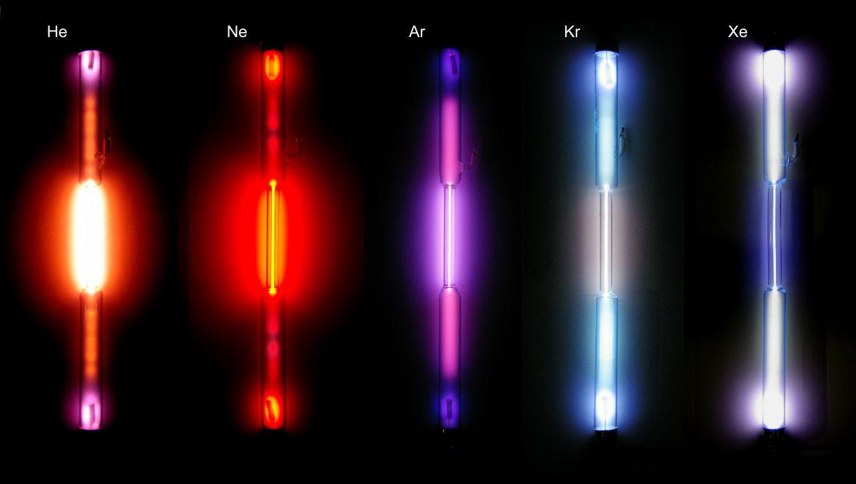 Rodzaje neonów